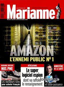 L'Hebdomadaire Marianne du 12 novembre 2020